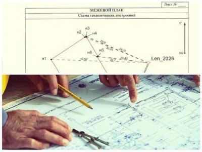 Как составить план земельного участка. Пошаговая схема.